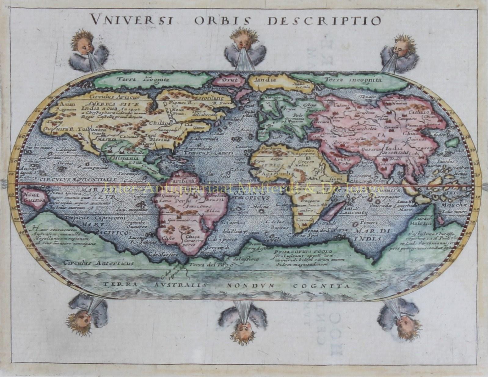 - World map ? Giovanni Magini, 1597